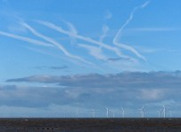 Vapour trails and windmills