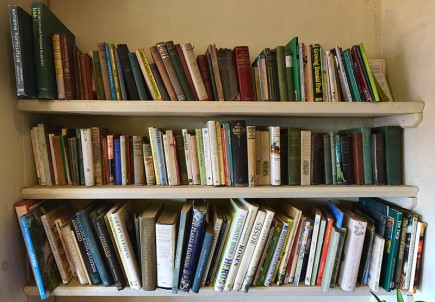 Gardener's book shelf