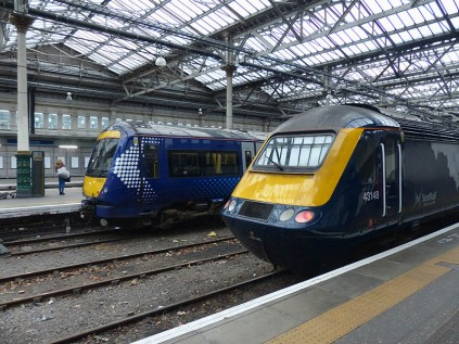 Our train at Waverley...
