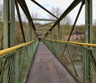 Jackfield memorial footbridge