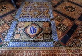 Church floor...