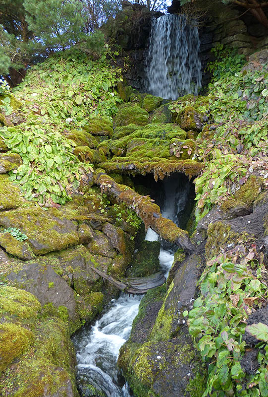 ... and waterfall