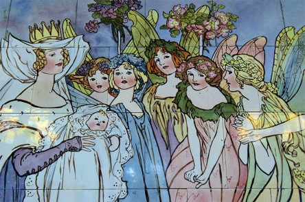 Fairies at the Christening