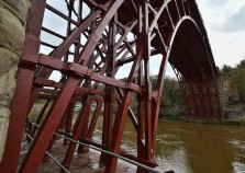 Ironbridge - resplendent in red