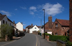 Broseley back street