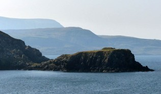 Look back to Trotternish