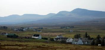 Staffin and the Trotternish ridge