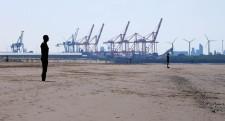 Distant docks