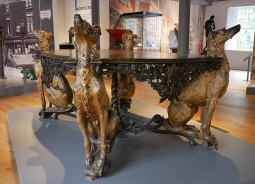 The deerhound table