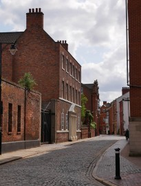 Street in old Hull