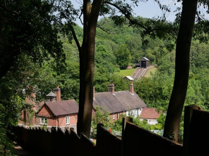 A glimpse of Blists Hill