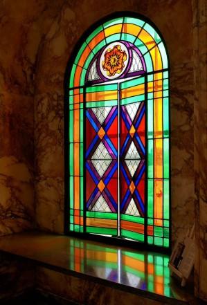A window...