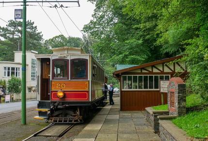 Groudle Glen - tram stop