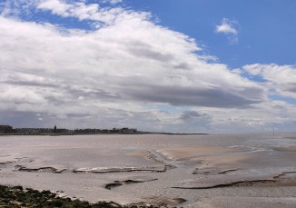 Morecambe shoreline