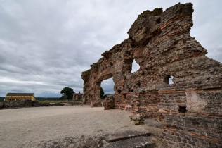 Wroxeter's Roman wall