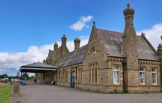 The former station at Morecambe