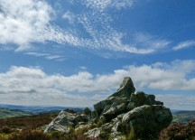Stiperstones skyscape