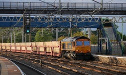 Rugeley - passing trains (2)