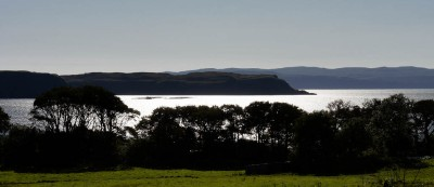 Sunlight on Uig Bay