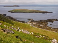 Staffin Island and the slip
