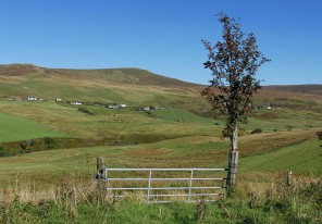 A view to Glen Conon
