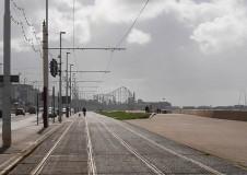Tramway cyclist