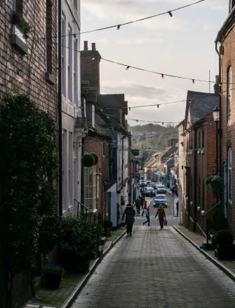 We'll walk down Whitburn Street...