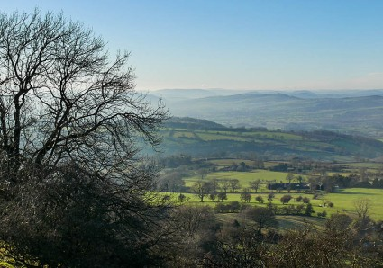Border hills...