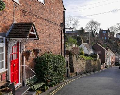 Red door in Railway Street