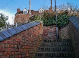 Bernard's Hill steps