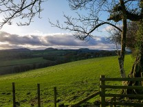 ...has views to the Stretton Hills