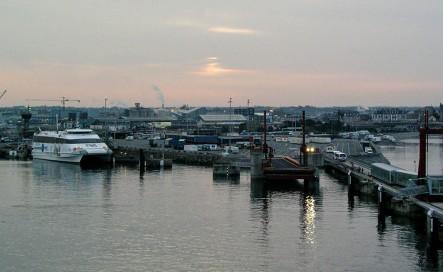 2003: dawn arrival, St Malo
