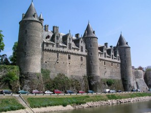 Josselin - the chateau