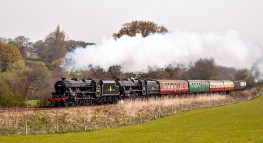 2007: Steam near All Stretton...