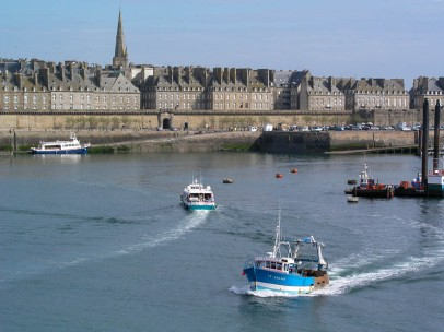 Ready to leave St Malo