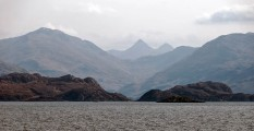 Sailing through the Sound of Sleat