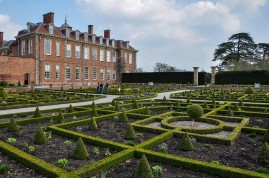 Hanbury Hall and parterre