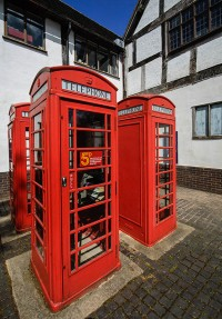 National collection of telephone kiosks...