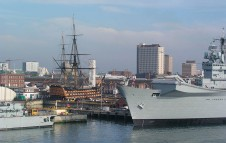 Old and new at Portsmouth