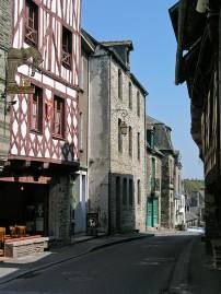 Josselin: quiet streets