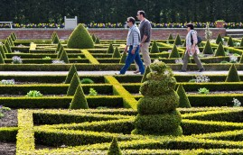 Partaking of the parterre