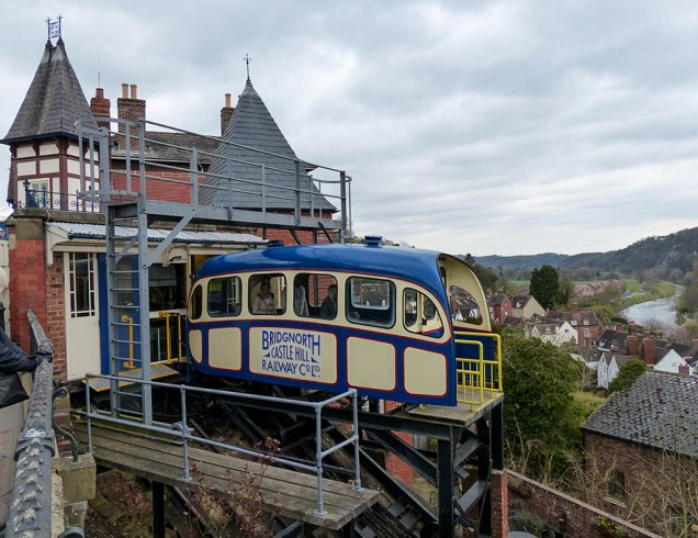 ...and the cliff railway