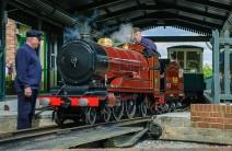 """John"" at Twyford station"