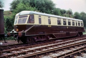 Bridgnorth: GWR railcar no. 22