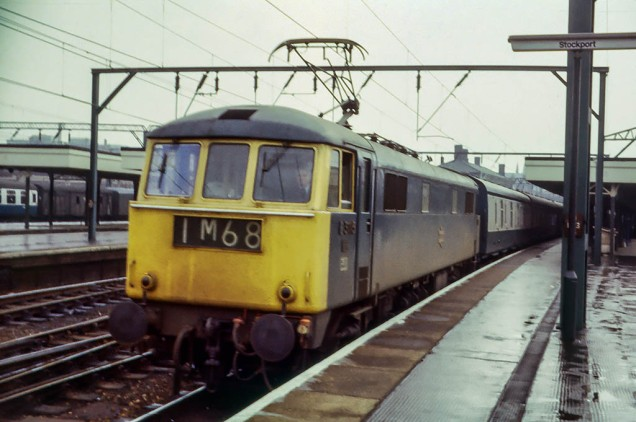 9 May 1970: Stockport, on the return journey