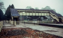 Church Stretton. The station had been demolished earlier that year