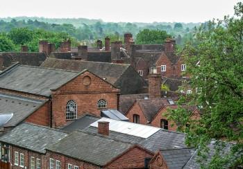 Bewdley rooftops