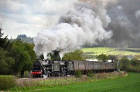 2012: Black 5s near Craven Arms