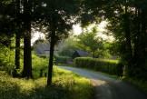 Back past the farm
