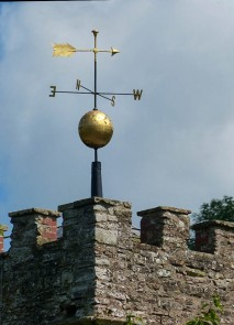 Tugford church weather vane